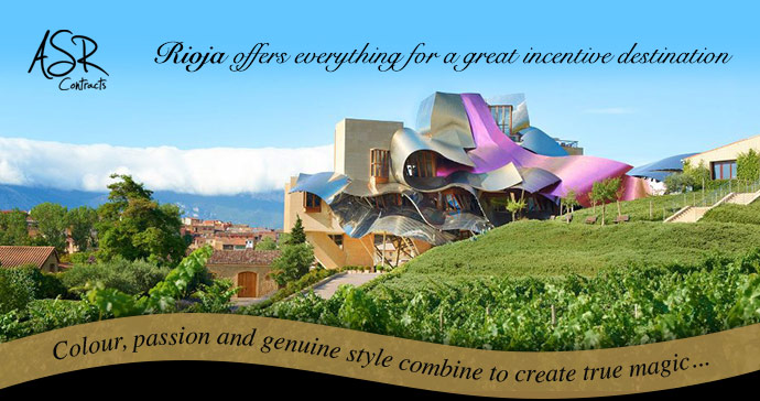 ASR Contracts (Rioja offers everything for a great incentive destination)
