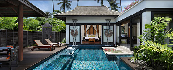 83 private pool villas