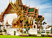 Take in the Emerald Buddha at the Grand Palace