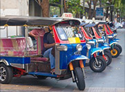 Explore Bangkok on a Tuk Tuk