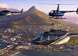 Helicopters over Table Mountain
