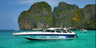 Cruise the Phi Phi Islands